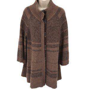 Free People Wool Blend Sweater Cardigan L
